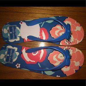 Kate Spade flip flops. No tags. Never worn.